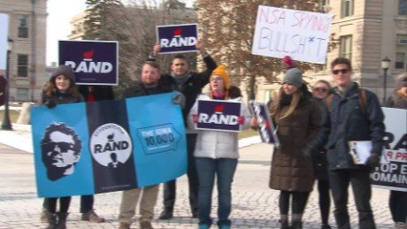 Final caucus countdown for Iowa's Rand Paul supporters