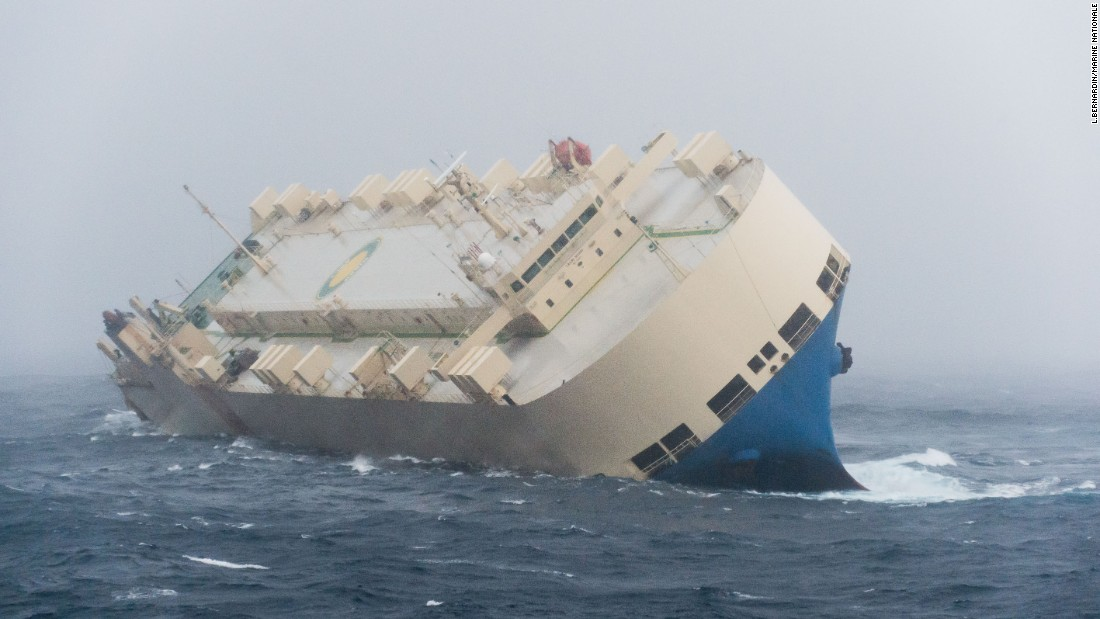 Worsening weather made it difficult for salvage experts to spend more than a limited amount of time on the ship as they began the process of preparing a tow to port.