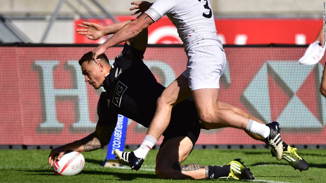 Williams made a strong debut on Saturday as New Zealand won all three group games, and also scored a try in the 25-5 semifinal win over England. The All Blacks thrashed Kenya 36-0 in Sunday's opening quarterfinal.