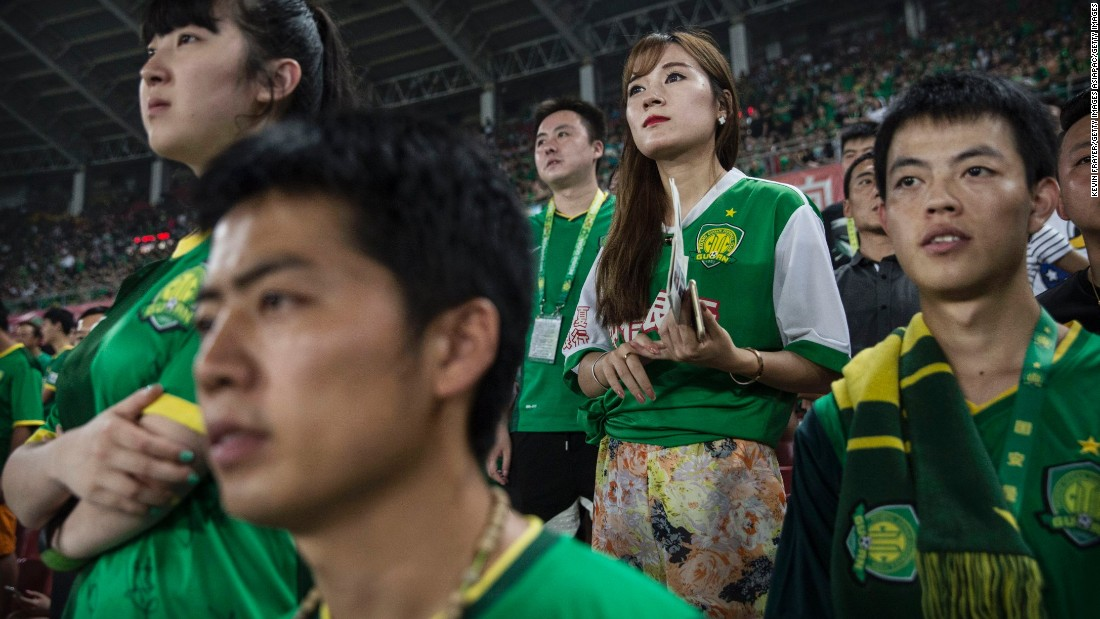 There are growing legions of ardent supporters and fans of Chinese football clubs. The government is also trying to foster a football culture in the country by mandating football programs in 20,000 Chinese schools in a plan devised by President Xi Jinping to make China a football power.