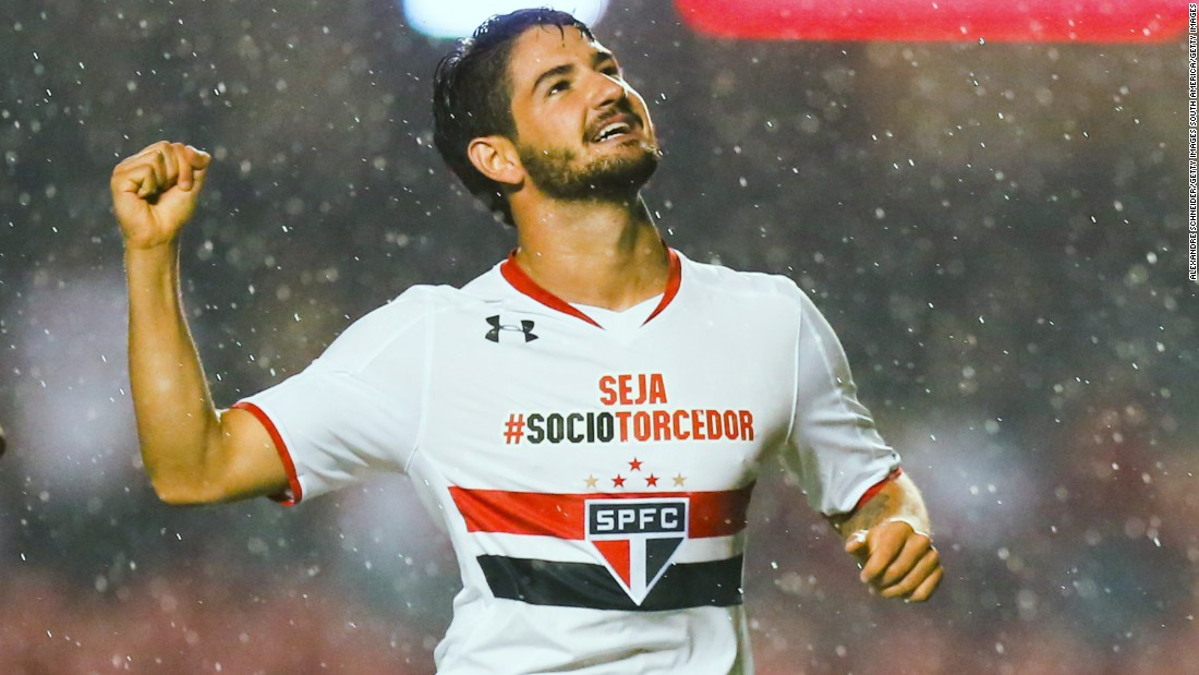 Still just 26, Pato was once the most exciting Brazilian wonderkid on the conveyor belt, but his initial promise has been marred by a succession of injuries. Chelsea fans will hope the former AC Milan striker can replicate the form that netted him 10 goals in 27 international appearances -- though they could be forgiven for worrying he will repeat the struggles of Radamel Falcao at Stamford Bridge.