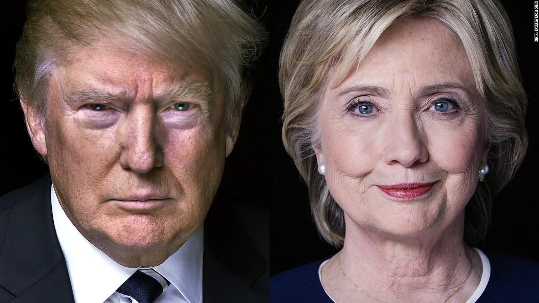 CNN/ORC poll: Clinton tops Trump on presidential traits