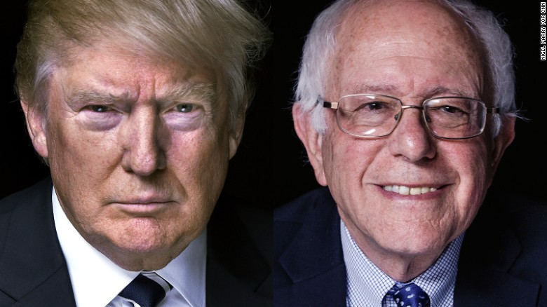 New Hampshire primary results: Trump, Sanders win