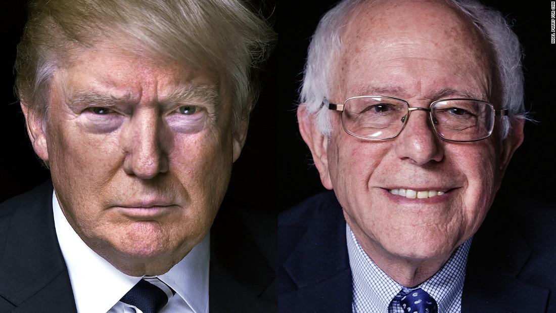 Poll: Trump, Sanders lead ahead of New Hampshire's vote