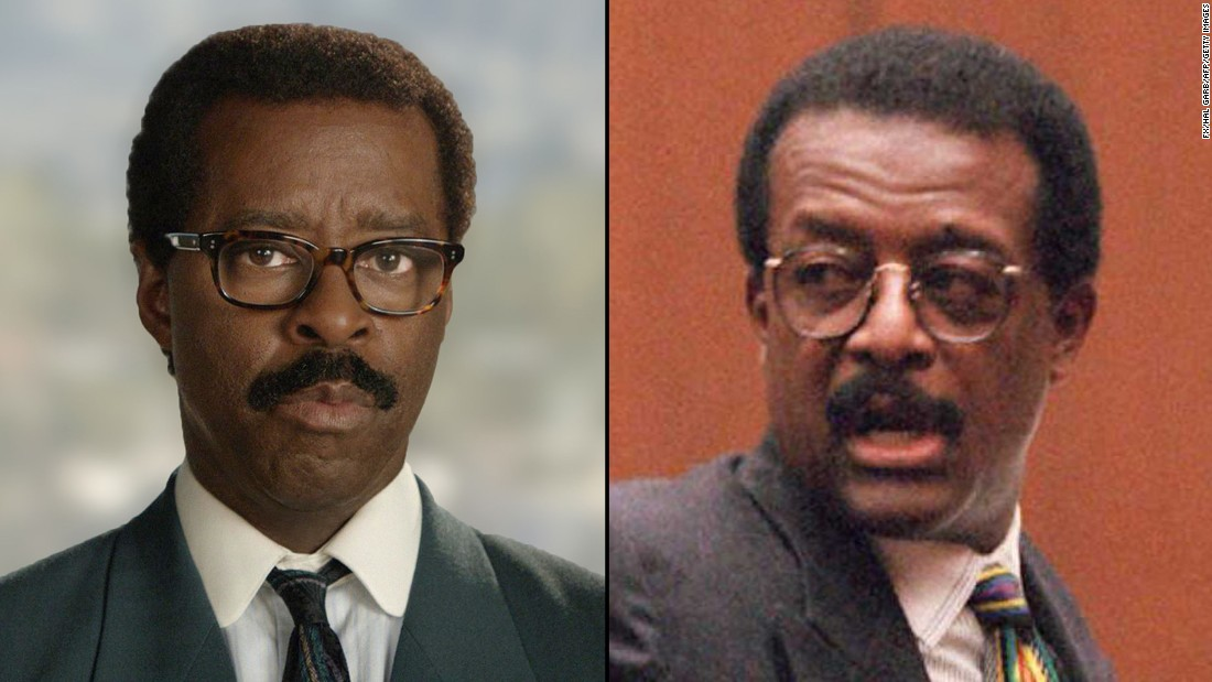 "Veteran movie and TV actor <strong>Courtney B. Vance</strong> (""Law & Order: Criminal Intent"") plays <strong>Johnnie Cochran</strong>, Simpson's smooth-talking defense attorney."