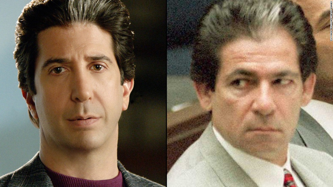 "<strong>David Schwimmer</strong> (""Friends"") is <strong>Robert Kardashian</strong>, a trusted Simpson adviser and father to three soon-to-be-famous daughters."