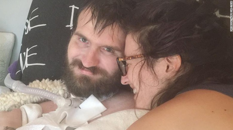 Husband's battle with ALS empowers wife to live