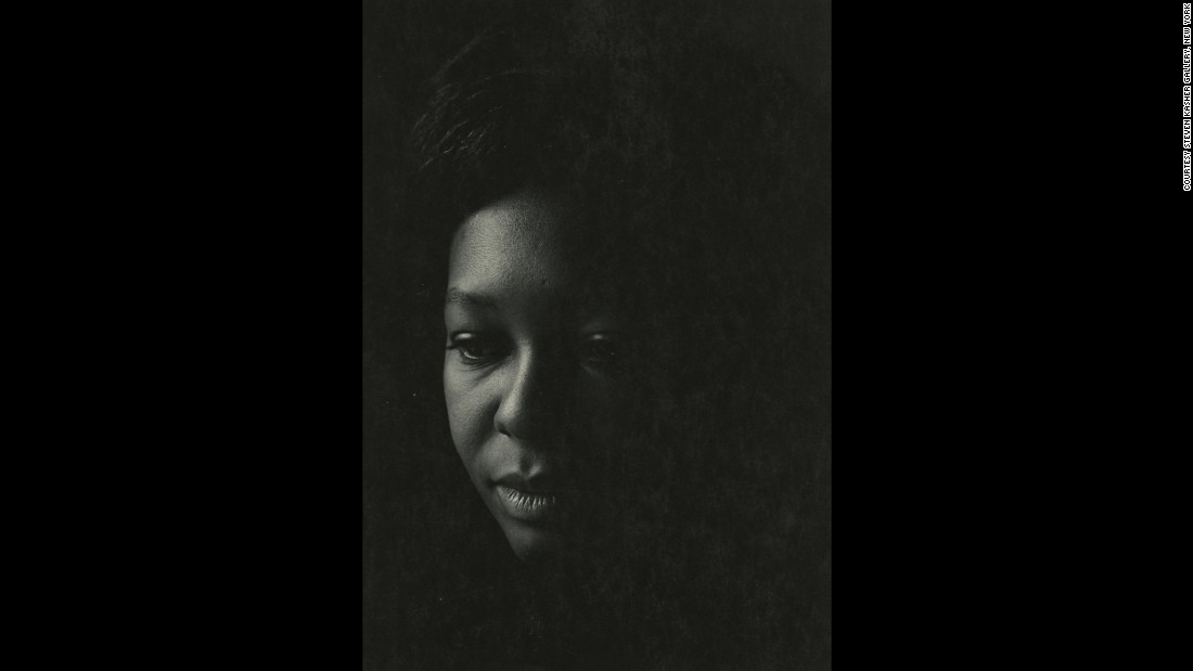 This portrait of a New York woman was taken by Draper in 1965. Draper was born in Richmond, Virginia, and moved to New York to attend the New York Institute of Photography in 1957. He taught photography for more than three decades.
