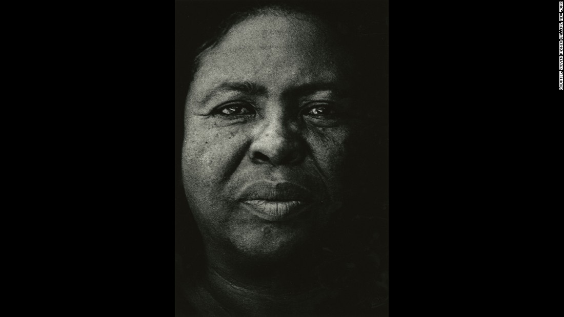 "Draper took this portrait of Fannie Lou Hamer, a civil rights activist, in 1971. Hamer was known for saying, ""I am sick and tired of being sick and tired"" -- a phrase that's etched on her gravestone."