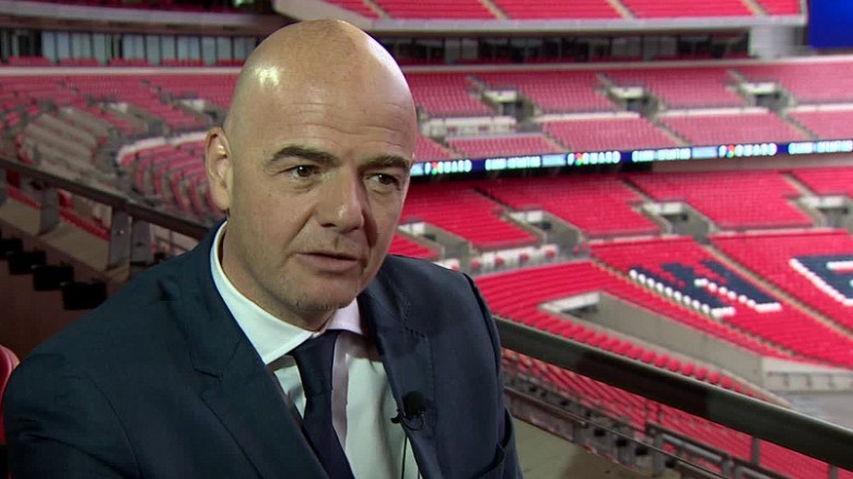 Gianni Infantino: I'm nobody's 'puppet' in FIFA race
