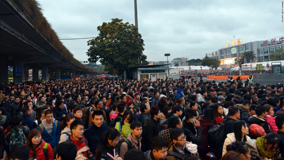 China's annual Spring Festival migration -- when millions of Chinese workers head to their hometowns for the Lunar New Year -- started on January 24 this year and lasts for around 40 days.