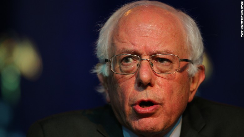 Bernie Sanders: Clinton can't have it both ways