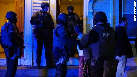 Manchester, New Hampshire cops carry out a raid to target low-level street dealers.