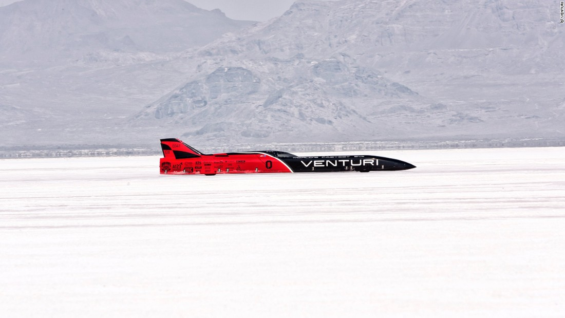 Venturi were the holders of the electric land speed record clocking an average speed of 307.6 mph (495 kph) in 2010.