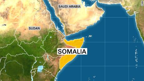 Trump tweets condolences after U.S. soldier killed in Somalia