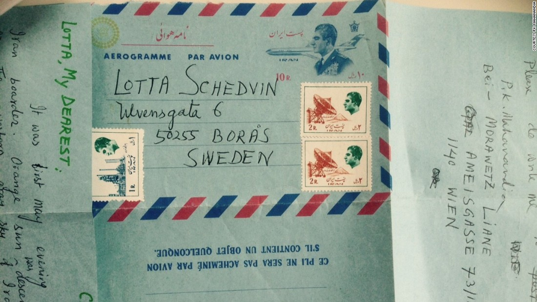 "In their year of separation before Mahanandia reached Sweden, the young couple kept their romance burning through letters. During his four month bicycle journey, Von Schedvin had to communicate with him via ""Poste Restante"" -- an old system of writing letters to a post office for collection."