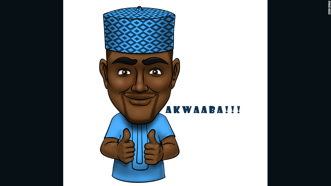 """The idea is really a match between the power that the mobile phone wields in Africa and a graphic portrayal of the idiosyncratic way in which Africans communicate with one another,"" said Afro Emoji CEO Ayoola Daramola."