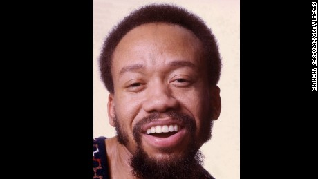 Close-up portrait of Maurice White, Grammy award winning singer and songwriter, and one of the founding members of the music group Earth, Wind, and Fire, late twentieth century. (Photo by Anthony Barboza/Getty Images)