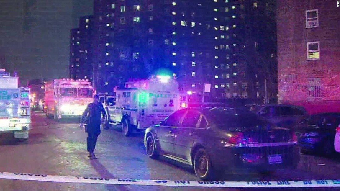 Two NYPD officers shot in the Bronx; suspect dead