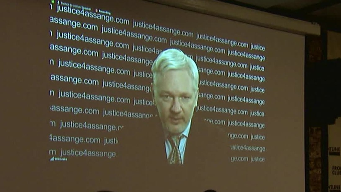 Ecuador says it'll allow Sweden to question Julian Assange at embassy