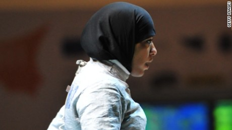 U.S. Olympic athlete to wear hijab curnow intv_00014907