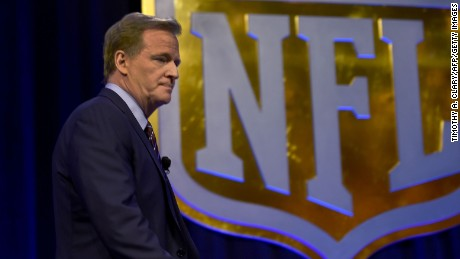 A year later, NFL's Roger Goodell is still getting questions on Deflategate