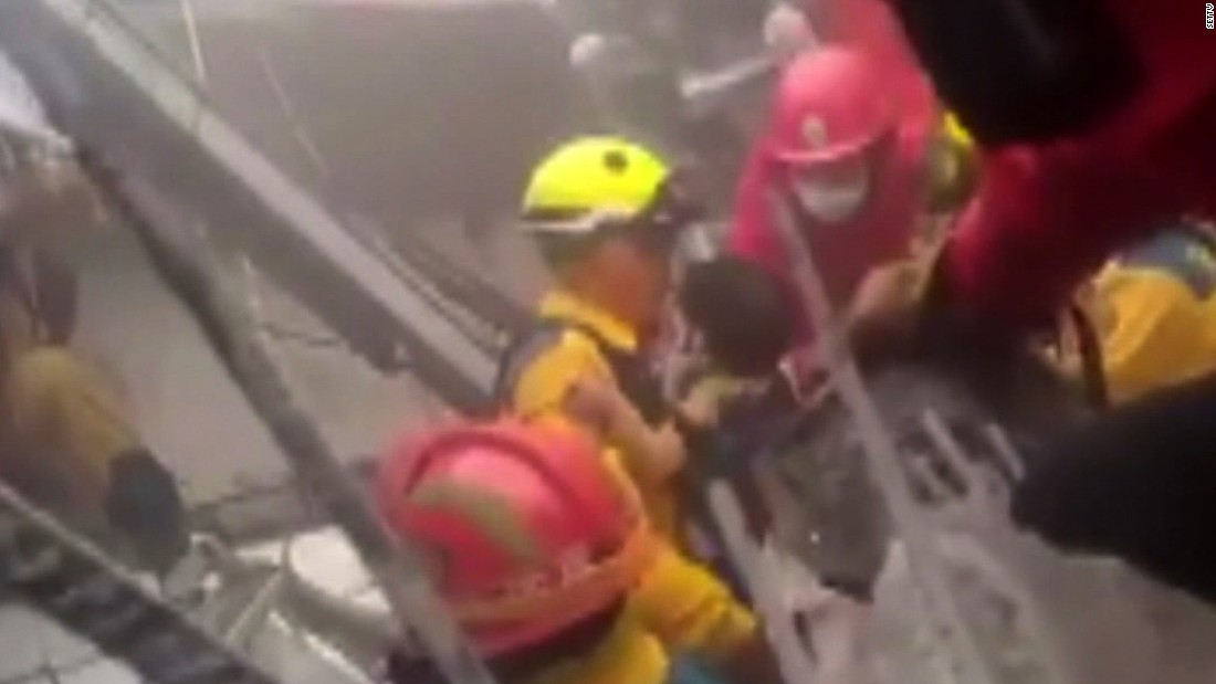 Taiwan earthquake: Tin cans found in the construction of toppled high-rise