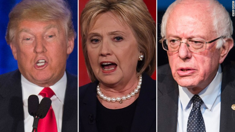 Sanders does better against Trump than Clinton in key states