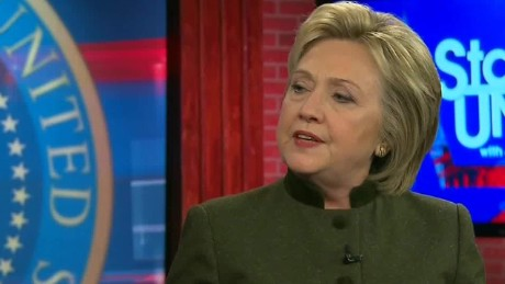 Clinton on sexism: 'We are still living with a double standard'