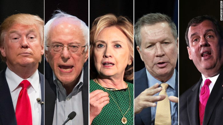 How has the presidential race changed these candidates?