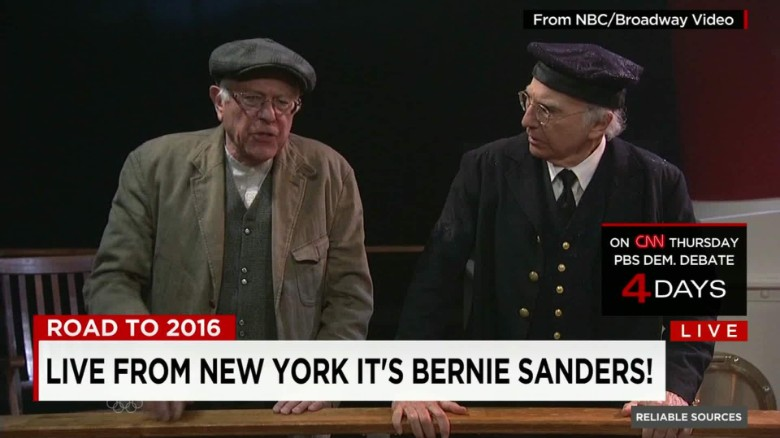 Slanted coverage of Clinton and Sanders?