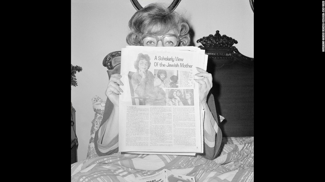 "Sunny Schulman Meisler -- mother of acclaimed photographer Meryl Meisler -- reads an article in November 1978. From February 25 to April 9, the Steven Kasher Gallery in New York will present a <a href=""http://www.stevenkasher.com/exhibitions/meryl-meisler"" target=""_blank"">solo exhibition</a> of Meryl Meisler's earliest work. It will include this photo and more than 35 other moments Meisler captured throughout the 1970s. ""Meisler's photographs take us to the kitsch-filled rooms of her hometown in Long Island, and to the gritty clubs and streets of disco-era New York,"" the gallery said."