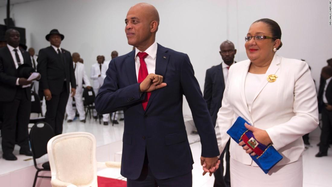 Haiti's President steps down, leaving no successor