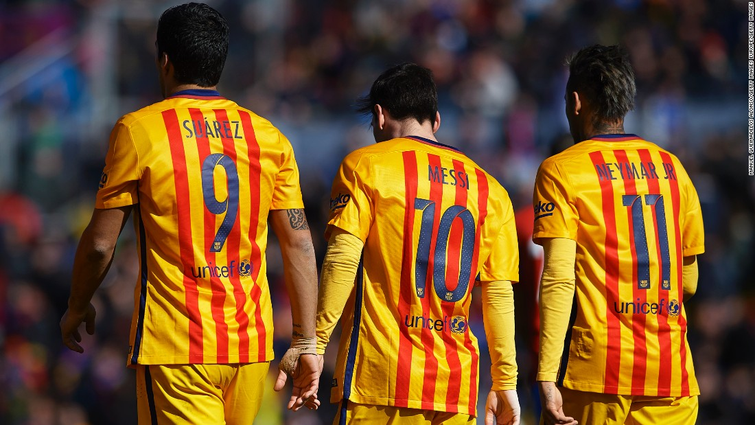 Suarez, Messi and Neymar have been lethal goalscorers for Luis Garcia's Barcelona
