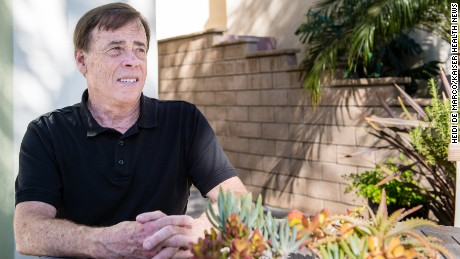 David Larson, 66, had knee surgery to repair a meniscus tear in December. He used the HealthLoop technology and says it helped detect a blood clot that could have put him back in the hospital.