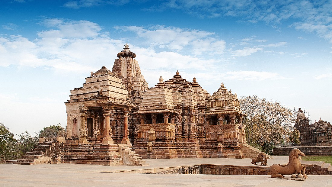 Khajurao in India's Madhya Pradesh state is a city of temples dating to around 950 AD. The most famous features multiple sculptures from the Karma Sutra.