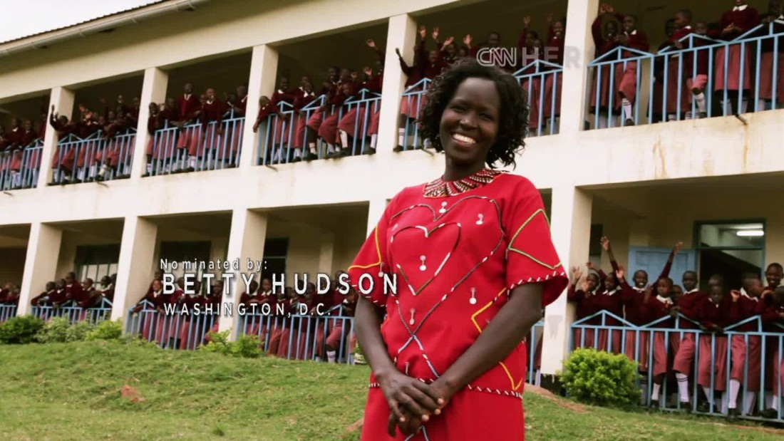 Woman challenges female oppression, educates girls in her Kenyan village