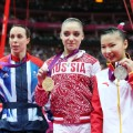 Beth Tweddle 2012 ceremony