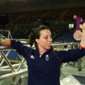Beth Tweddle medal shoot