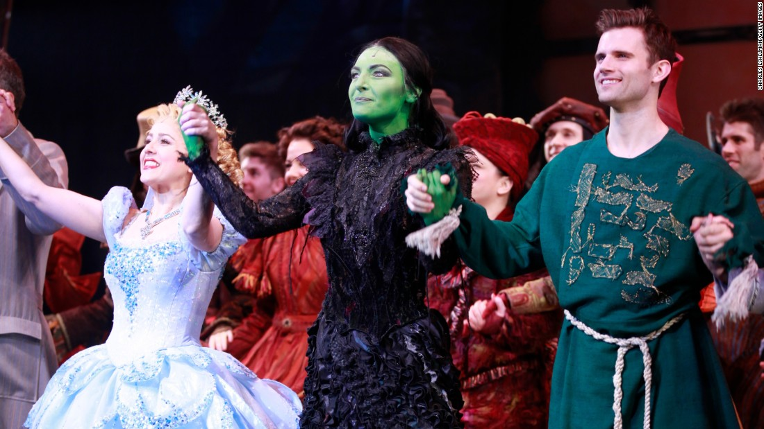 """Wicked"" fell short of a best musical Tony, with ""Avenue Q"" taking the prize in 2004. But it's had a long life, with devoted fans queueing up many times to see the story of ""The Wizard of Oz"" from the Wicked Witch's point of view. It's still going on Broadway after more than 5,000 performances."