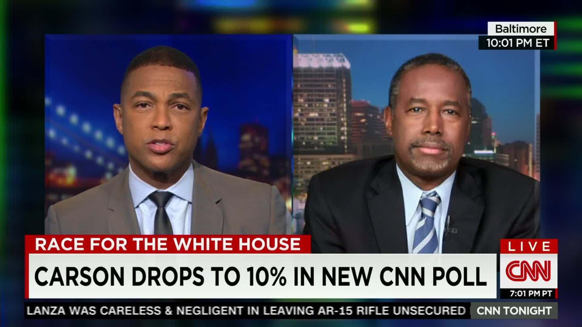 CNNs Don Lemon sits down with Ben Carson CNN Video