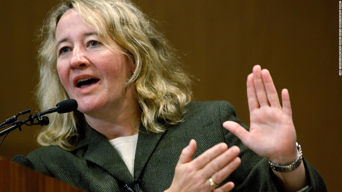 Carol Greider, born in 1961, is an U.S. molecular biologist and co-discoverer of telomerase, an enzyme critical for maintaining the length and integrity of chromosome ends, which play a role in cell aging. She made the discovery as a student of Elizabeth Blackburn with whom she was later awarded the Nobel Prize for Physiology or Medicine.