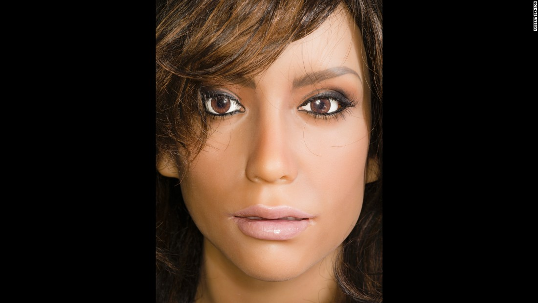 The standard RealDoll comes in 18 female body styles and two male styles with five skin tones and 39 available faces. The company also makes custom dolls for whatever a client wants to pay for.