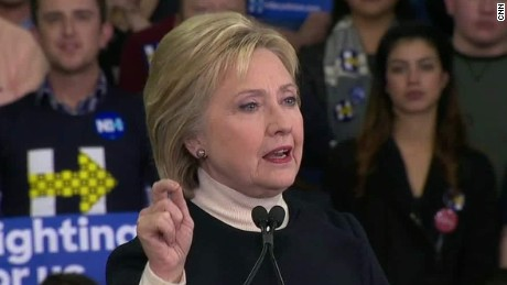 hillary clinton wall street concession speech sot ac_00002530