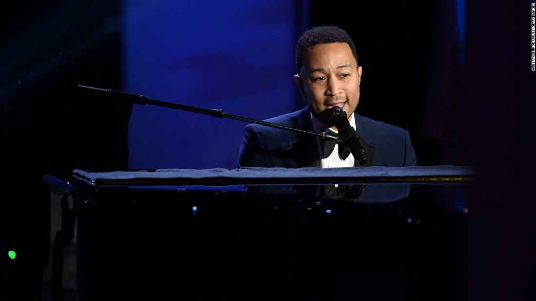 "<strong>John Legend's</strong> album ""Get Lifted"" in 2004 helped the pianist and vocalist to rise to fame. He's won a string of Grammy Awards -- including best new artist in 2006 -- as well as a Golden Globe and an Oscar."