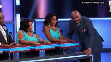 Steve Harvey hosts the revival of 'Family Feud.'