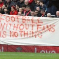 Liverpool football protest
