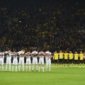Dortmund football minute silence