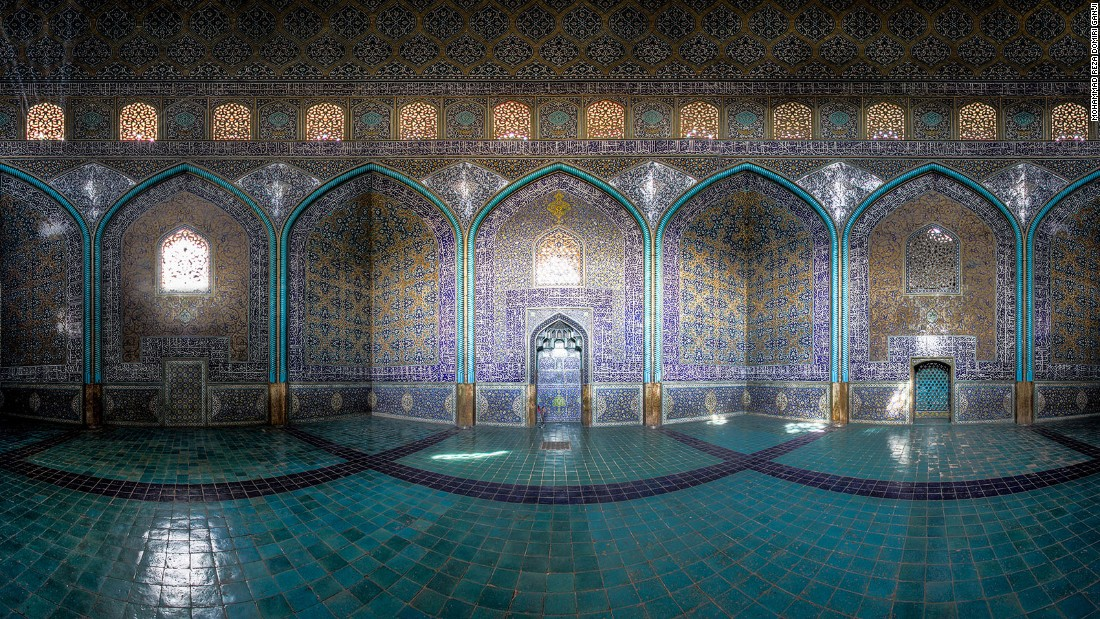A highlight of Isfahan's Naqsh-e Jahan Square, this was built during the reign of Shah Abbas I.