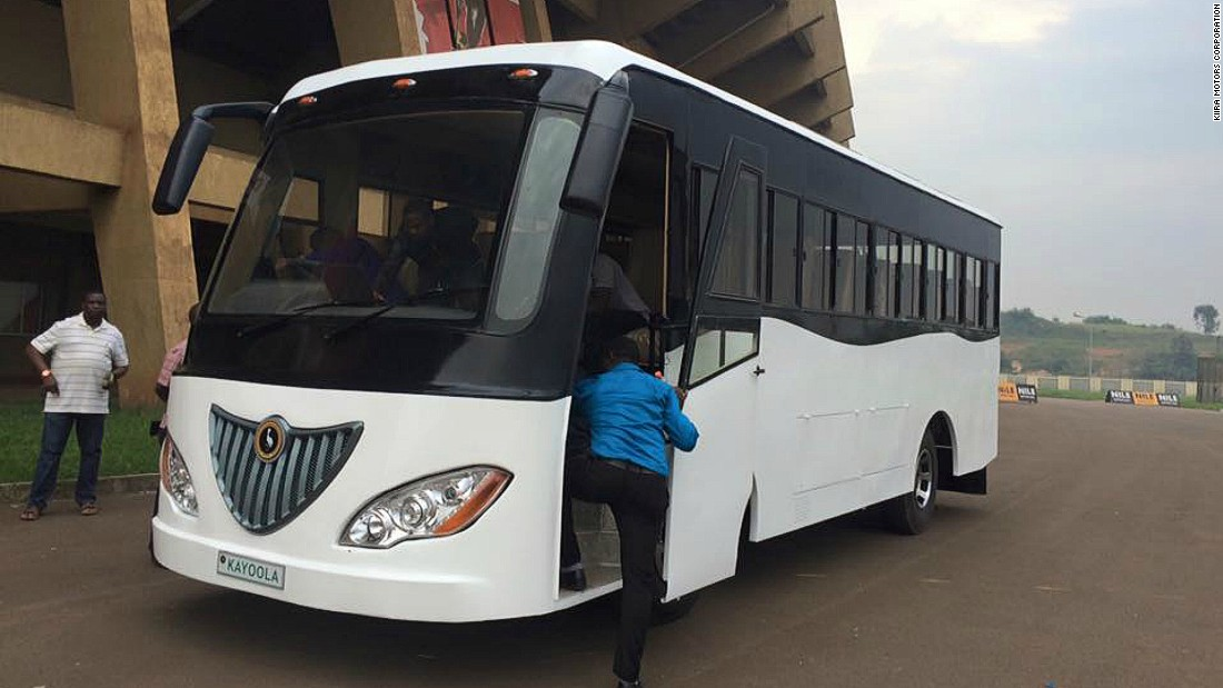 "Ugandan company <a href=""http://cnn.com/2016/02/15/africa/africa-solar-bus-kiira-uganda/index.html"">Kiira Motors has launched Africa's first solar powered bus</a> -- and plans to expand the country's solar vehicle industry."